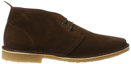 JACK Boots Brown Chocolate Brown Stivali Desert Uomo Chocolate Marrone amp; Jfwgobi JONES Suede FpfFr8