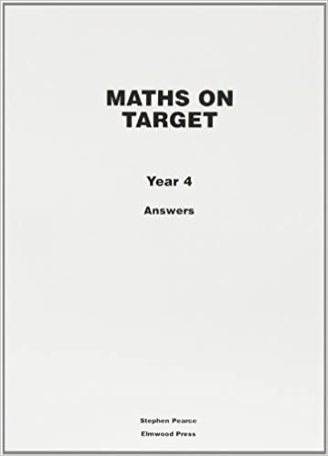 Maths On Target Answers Year 4 Amazoncouk Stephen