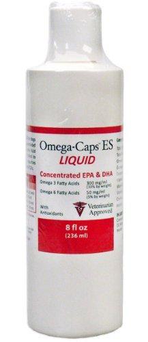 Omega-Caps ES LIQUID (8 fl oz), My Pet Supplies
