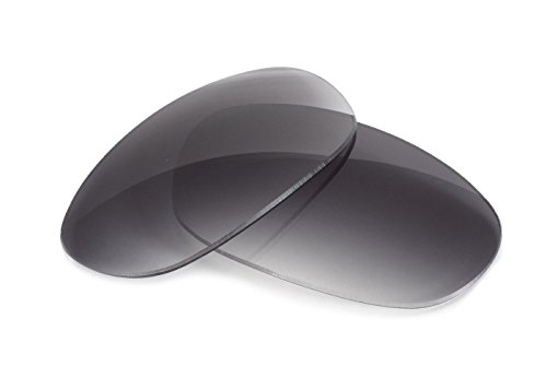 FUSE Grey Gradient Tint Replacement Lenses for Oakley Eye Jacket - Oakley Replacement Eye Jacket 1.0 Lenses