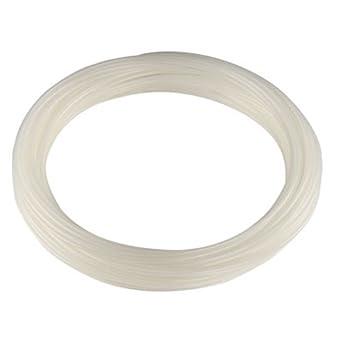 0.15 ID Semi-Clear 1//4 OD 50 Length White 0.05 Wall Nylon High-Pressure Flexible Tubing