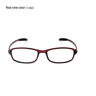 TR90 Ultra-Light Strength Presbyopic Glasses Reading Glasses with Small Frame & Thin Bracket