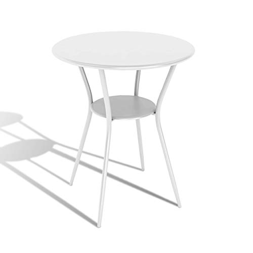 (dar Living Bistro Table, White)