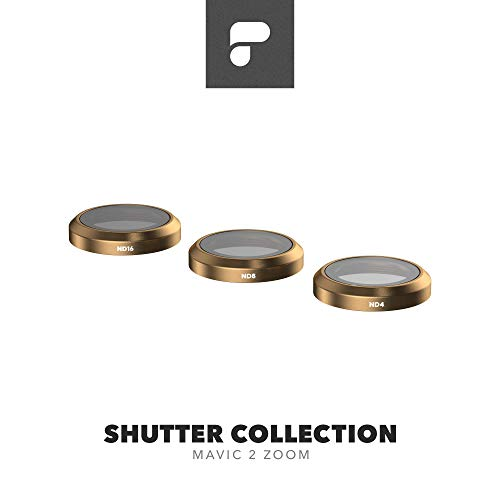 PolarPro Shutter Filter Collection for DJI Mavic 2 Zoom - DJI Mavic 2 Filters (ND4, ND8, ND16)