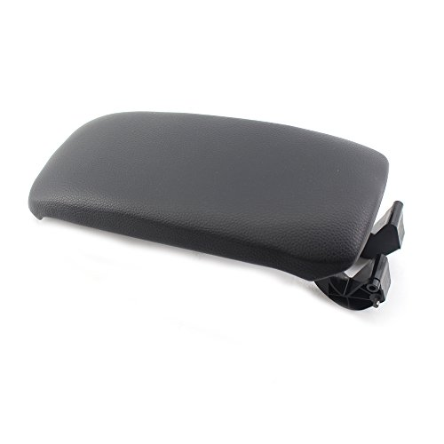 Base Plate for Audi A3 8P 2003-2012 Black Arotom Leather Armrest Center Console Lid Cover
