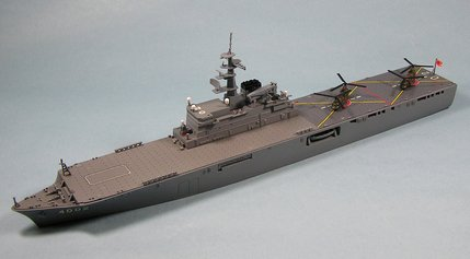 「日本沈没」1/700海上自衛隊輸送艦「しもきた」