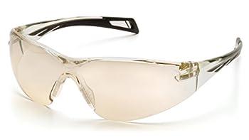 Pyramex Safety PMXCITE Eyewear, Black Frame, Gray Lens