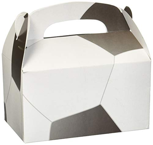 Birthday Party Soccer Treat Box Favor Boxes Favors Sports