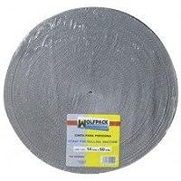 Wolfpack 5250006 rolluikband, 18 mm rol 50 m, grijs