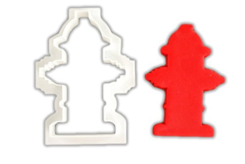 Fire Hydrant Cookie Cutter - LARGE - 4 ()