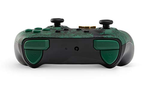 PowerA Enhanced Wireless Controller for Nintendo Switch - Link Silhouette