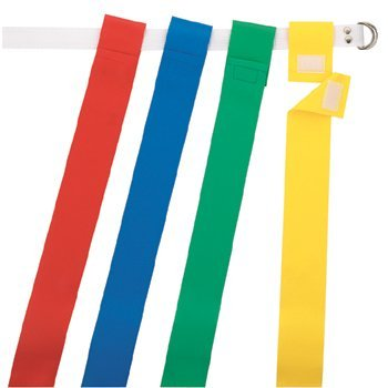 Martin Flag Belt - Flag Football Blue (Set of 12)