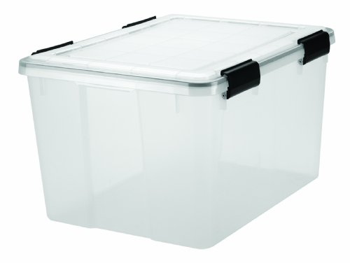 IRIS Quart WEATHERTIGHT Storage Clear