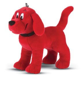 Standing Clifford Red Dog 16