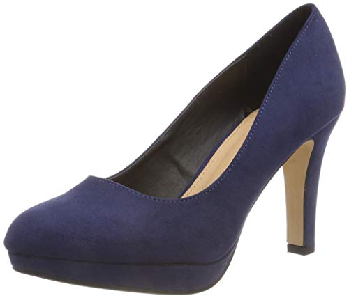 A300 Blue Women's Carnelian Sued IMI Closed Toe 00 Navy Bhwmd Pumps Buffalo qZfFn