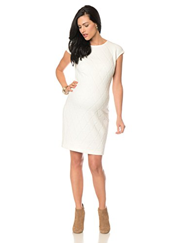 Donna Morgan Cap Sleeve Maternity Dress