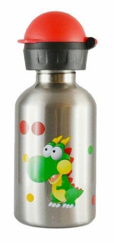 Amazon.com: CHEEKI 350 ml Kids acero inoxidable Botella de ...