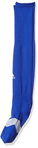 - adidas Metro IV Soccer Socks (1-Pack), Bold Blue/White/Clear Grey, Medium