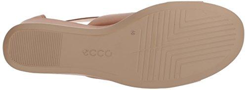 ECCO Shape 35, Sandali Punta Aperta Donna Marrone (Cashmere 1291)