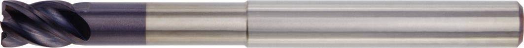 4-Flute WIDIA Hanita TF4VN516016 VariMill I 4VN5 HP Finishing//Roughing End Mill TiAlN Weldon 0.625 Cutting Diameter Carbide 0.02 Chamfer RH Cut