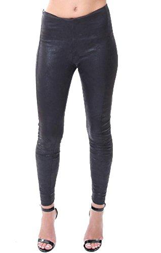 Black Suede Pants - 8
