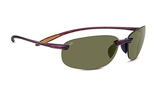 Serengeti 8370 Nuvino Polar PhD 555NM Sunglasses, Satin Tortoise Frame by Serengeti