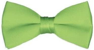 ZeHui - Corbatas de satén para niños, color verde lima: Amazon.es ...