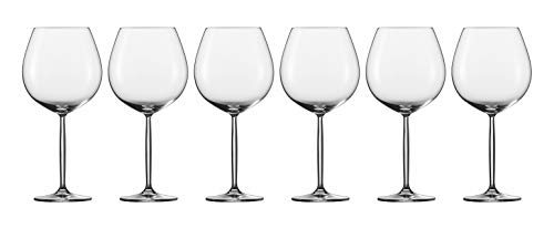 Tritan Diva Claret Burgundy Wine Glasses (Set of 6)