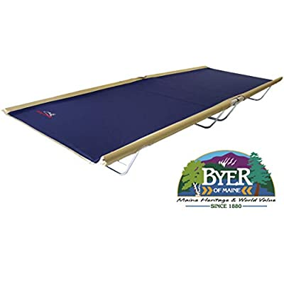 BYER OF MAINE, Allagash Plus, Cot, Extra Wide, 76