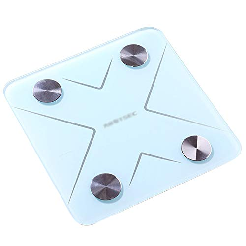 XIAOBAI Bathroom Scales High Precision Digital White Slim Design Bluetooth Smart Body Fat Scales