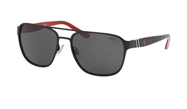 Ralph Lauren POLO 0PH3125 Gafas de sol, Matte Black, 57 para ...