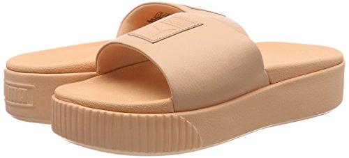 Platform Piscina Puma Para puma Zapatos Mujer dusty Slide Naranja Wns Coral Y De Playa 07 Black d00Sq8