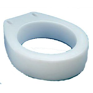 Carex Health Brands B30700 Toilet Seat Elevator Round