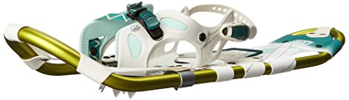 Tubbs Snowshoes Wilderness Womens Snow Shoes, 25 - White/Green