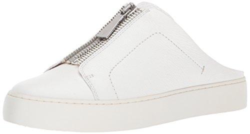 FRYE Damen Lena Zip Mule Sneaker Weiß