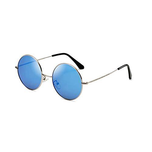 de Redondas Aviador sol Nuevas Retro Hombre Running UV B Hipster Gafas Vogue protección UV de para f4qFpd4