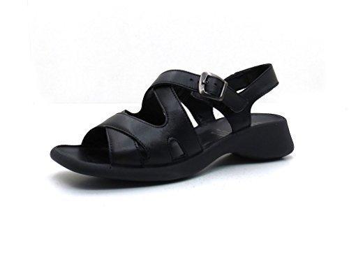 01 Legero Sandales 4 62726 Schwarz Femme Pour XxBxFA4