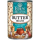 Eden Foods Butter Lima Beans 15 Oz (Pack of 12)
