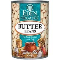 Eden Foods Butter Lima Beans 15 Oz (Pack of 12)