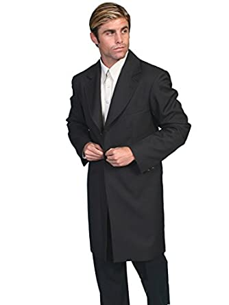 Men's Steampunk Clothing, Costumes, Fashion Frock Coat  AT vintagedancer.com