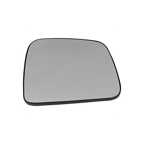 Passengers Side View Mirror Glass & Base Heated Replacement for 11-18 Dodge Durango Jeep Grand Cherokee 68082636AB
