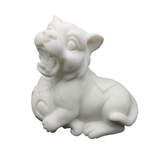 Feng Shui Marble - LINGS Tiger Statues White Marble Stone Guardian,Chinese Zodiac Feng Shui Decor,for Home and Office Attract Wealth and Good Luck,Best Housewarming Congratulatory Gift