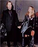 Signed Pitt, Brad / Aniston, Jennifer 8x10 autographed