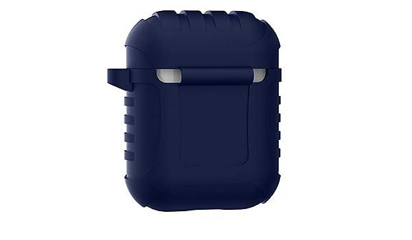 DEESEE - Carcasa de silicona para AirPods de Apple, diseño ...