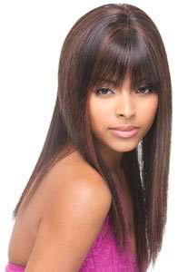 100% Remy Human Hair Full Lace First lady wig by Janet Collection-4(medium (Collection Human Hair Wig)