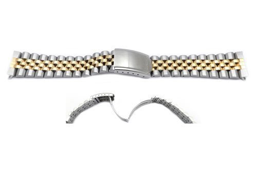 - Seiko Dual Tone Jubilee Style 20mm Watch Band