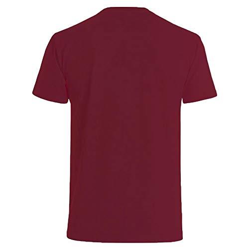 hombres con y los a de Camiseta logo los mandarina borgo a os los de cortos 40 8Iwdwq
