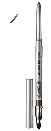 Clinique Quickliner For Eyes - # 02 Smoky Brown Eye Liner For Women 0.01 oz