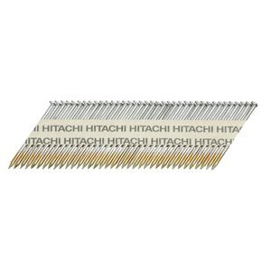 Hitachi 15142 3-1/4-Inch x 0.131-Inch Clipped-Head Smooth Shank Hot-Dipped Galvanized Framing Nails, 2500-Pack