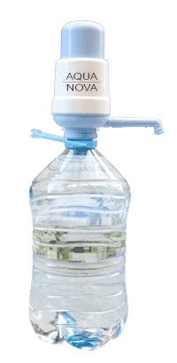 Dispensador de agua manual para garrafas – bomba compatible con botellas (PET) de 3